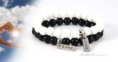 szerelmes-erintes-nemesacel-asvanykarkoto-szett; A 17, Beaded Bracelets, Jewelry, Fashion, Moda, Jewels, Fashion Styles, Pearl Bracelets, Schmuck