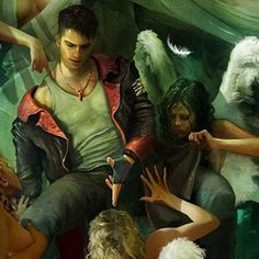 Concept Arts do game DmC (Devil May Cry)