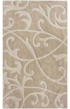 Rugs USA Keno Scrolling Vines Beige Rug  Item #: 200ACR6BLK-P  $129 - $684 + FREE SHIPPING  i dig the beige color + living social deal (http://www.livingsocial.com/cities/122-san-diego-noco/deals/345332-170-to-spend-on-home-decor)