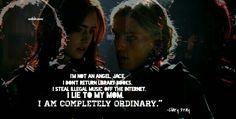 Clary & Jace, City of bones, Film.