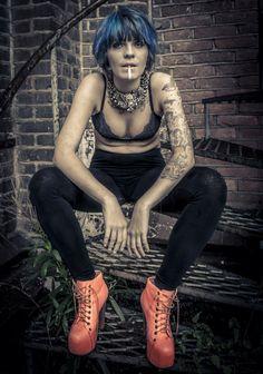 Tendenze Stylist Awards runde #2  Tema: Stilikon  Hår/sminke- Linn Eggen  Foto: Nina Djærff  Modell: Siv Kaia Thorsby Andersen