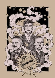 Pen and Ink artwork of Thomas, Arthur and John Shelby from Peaky Blinders printed on heavyweight recycled card. Safely shipped in tube. Peaky Blinders Poster, Peaky Blinders Wallpaper, Peaky Blinders Quotes, Peaky Blinders Tommy Shelby, Peaky Blinders Thomas, Cillian Murphy Peaky Blinders, Horror Picture Show, Rocky Horror Picture, Drawing Sketches