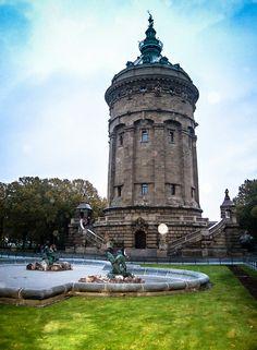 Wasserturm (Water Tower), Mannheim, Germany