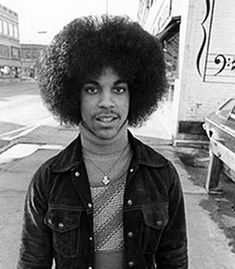 Prince in downtown Minneapolis 1980 - this pic was taken before I was born...still the man!