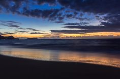 Dawn #sunrise #beach #portosanto #islandlife #ocean #clouds #cloudporn #travel #wanderlust #adventure #tropical by james_f_p