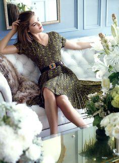 Just classy | Hilary Rhoda for Neiman Marcus