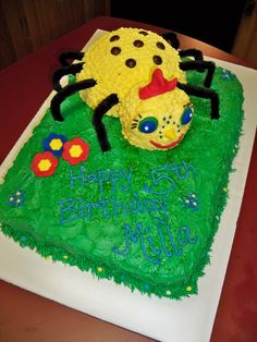 Miss Spider and Sunny Patch Friends Cake