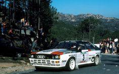 Hannu Mikkola - Arne Hertz 17th Vinho do Porto Rallye de Portugal 1983 (Audi Quattro)