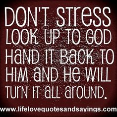 "The LORD will fight for you; you need only to be still."" (Exodus 14:14 NIV)"