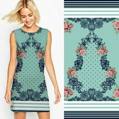 Floral + Rendas ❤ Quer uma estampa exclusiva? Mande um email ou direct #surfacedesign #textile #print #printfloral #moda #estampas #fashion