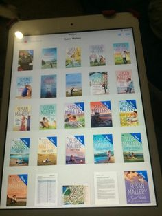 Reader Casey C's collection of my #ebooks. Isn't this fun? #books