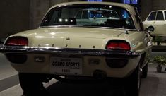 """Mazda Cosmo Sports Mazda with a track record that just was one victory a Japanese car in France """"Le Mans 24-hour race"""" with this rotary engine"""