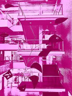 Calder Stairway enhancement #9, via Flickr.