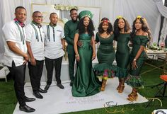 African Bridesmaid Dresses, African Wedding Attire, African Print Dresses, African Fashion Dresses, African Dress, African Weddings, African Prints, Zulu Traditional Wedding Dresses, African Traditional Wedding