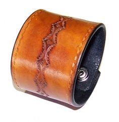 Simple Leather Cuff