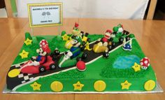 "Bellissimo! Specialty Cakes: ""Mario Kart Cake"" - 5/11"