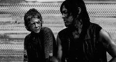 ...need breakfast...Norman on Instagram  =) Daryl & Carol TWD