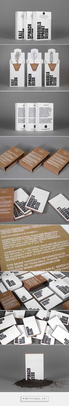 Urban Grow (Student Project) - Packaging of the World - Creative Package Design Gallery - http://www.packagingoftheworld.com/2017/04/urban-grow-student-project.html