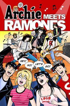 Ramones e Archie em crossover especial de aniversário