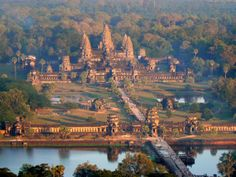 Angkor Cambodia... the worlds largest complex of sacred temples.