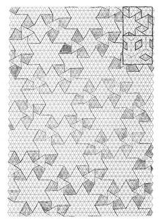 Thinking Sketches - 3.4.6.4 Waterbomb-Flagstone Tessellation by EricGjerde, via Flickr