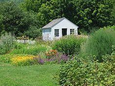 Garden Shed, Shaker Village, Pleasant Hill, Harrodsburg, Kentucky Garden Structures, Outdoor Structures, Workshop, Pleasant Hill, Photography Competitions, Organic Gardening, Vegetable Gardening, Photography Gallery, Organic Vegetables