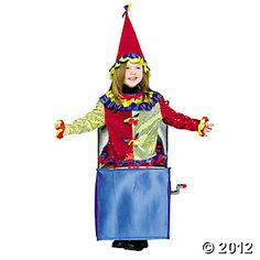 Jack-In-The-Box Toddler Costume