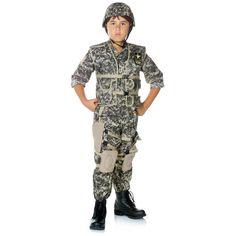 US Army Ranger Boy's Costume