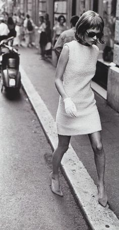 Kate Moss by Peter Lindbergh | Shift Dress