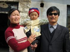 Blind Chinese Lawyer Chen Guancheng Under US Protection.