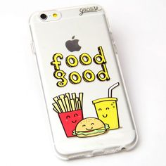 Capinha de celular Food Good para iPhone, Samsung                                                                                                                                                                                 Mais
