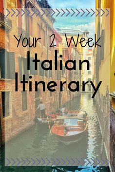 Your 2 week italian itinerary!!!!  It's here!! Get the best Italy itinerary, while seeing all the major sights, but still living like a local!!  Italy itinerary | where to go in Italy | how to travel Italy | Italy vacation | travel in Italy