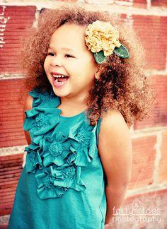 akkk!  Love this flower dress!