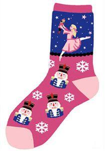 Retail - Nutcracker Ballet Gifts - NEW! - Light-Weight Socks - Clara Sock, $6.95 (http://www.nutcrackerballetgifts.com/new-light-weight-socks-clara-sock/)
