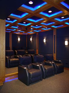 Captivating Want: Man Cave / Theatre Room. Lighting And Soundwaves Audio Video  Interiors Home Theater Experts Lakeland Winter Haven Florida Amazing Pictures