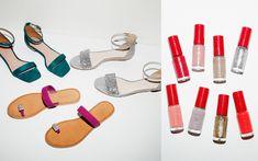 おしゃれは足元から! 「グリーンレーベル リラクシング」でサンダル×マニキュアのペアリングを楽しもう Sandals, Green, Fashion, Moda, Shoes Sandals, Fashion Styles, Fashion Illustrations, Sandal