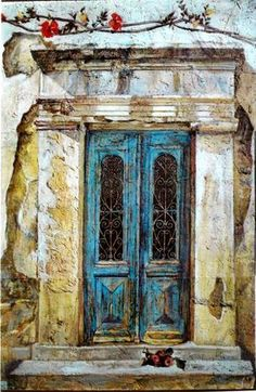 Smaragda Papoulia-Vasilakoudi (Greek painter, b. 1965)