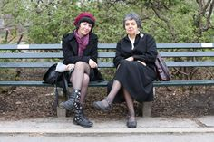 """Humans of New York: """"Are you related?"""" """"Well, no. Did you two just meet?"""" """"She's dating my son. It's Meet The Mom Day. Brandon Stanton, Humans Of New York, Mom Day, City That Never Sleeps, News, Dating, People, Writing Prompts, Friends"""