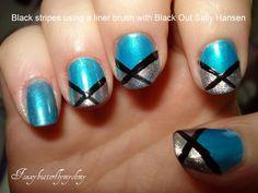 Beauty Basics: 2011 Prom and Grad- Teal Nail Art