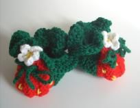 baby booties (hand knit) KNITTING PATTERN  $3.99