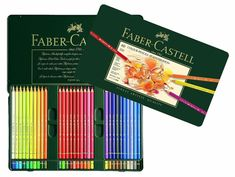 60 Faber Castell Polychromos Colored Pencils | Colored Pencil Set | Coloring Pencils | Imported from Germany