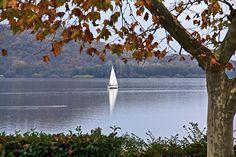 Lago di Viverone - Sailing in the fall