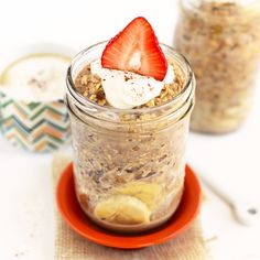 Maple French Toast Overnight Oats - Fit Foodie Finds