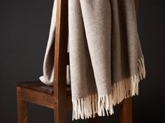Italian Tweed Throw - I could own a hundred throws, they are so handy, classy and warm for the fall/winter. Darker Shades Of Grey, Interior Exterior, Interior Inspiration, Design Inspiration, Home Textile, Alter, Home Furniture, Home Accessories, Home Goods
