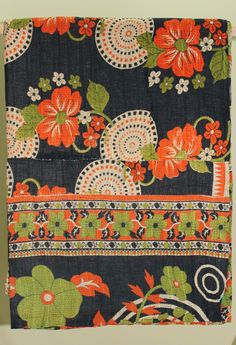 kantha quilt from sarisliving / via @Justina Siedschlag Siedschlag Blakeney.
