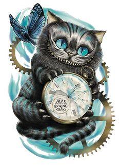 Alice In Wonderland Bathroom . Alice In Wonderland Bathroom . Alice In Wonderland Quote Printables Art Disney, Disney Kunst, Disney Ideas, Gato Alice, Wallpaper Gatos, Chesire Cat, Cheshire Cat Drawing, Cheshire Cat Tattoo, Tattoo Cat
