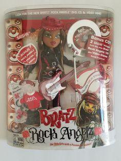 Bratz Rock Angelz Sasha with Hat Original 2005 Version - New in Box   eBay