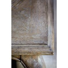 Felicity French Country Rustic Oak Wood Dining Table