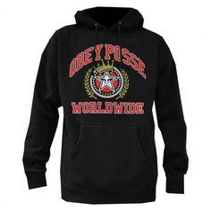 OBEY Posse Worldwide sweat à capuche black 75€ #obey #sweatcapuche #hoodie #hoody #hoodies #fleece #skate #skateboard #skateboarding #streetshop #skateshop @PLAY Skateshop