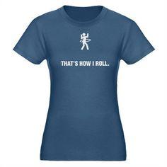 Hula Hoop Organic Women's Fitted T-Shirt (dark). $27 on Cafe Press.